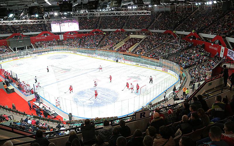 Spodek hokej