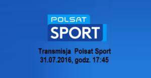 Polsat Sport Logo mecz GKS - Pogoń