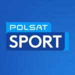 Polsat Sport Logo niebieskie kwadrat