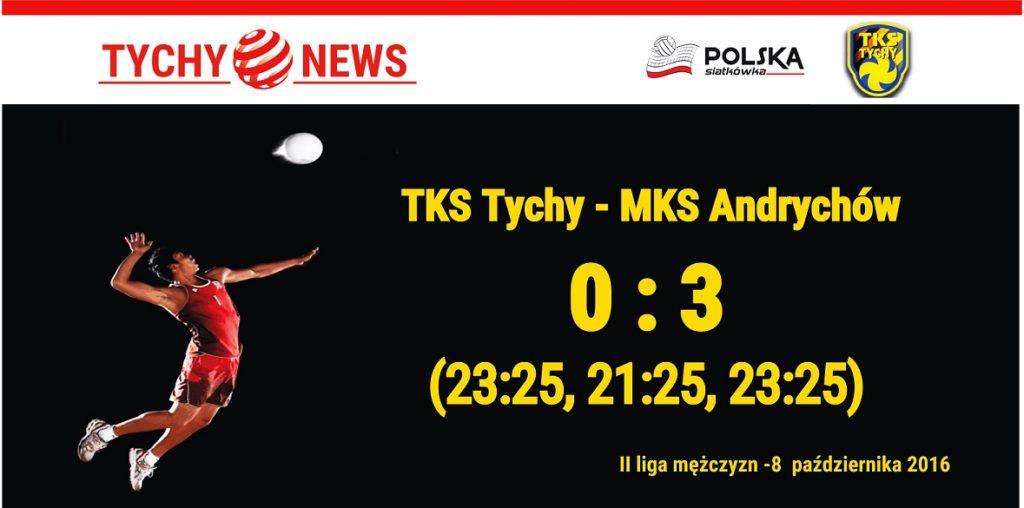 Wynik Siatkówka - TKS - Andrychów 8 paź 2016