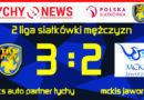 2 liga siatkówki : TKS Auto Partner Tychy – MCKiS Jaworzno 3:2