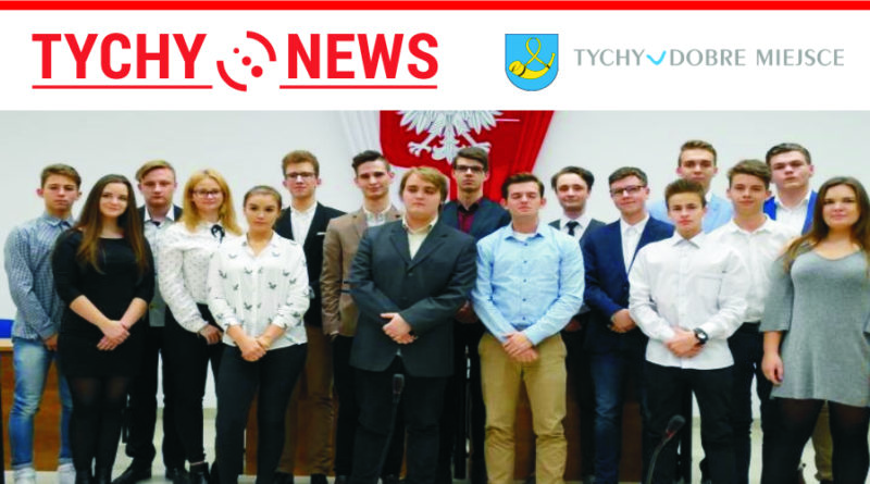 Inauguracyjna sesja Młodzieżowej Rady Miasta w Tychach.