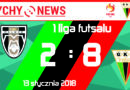 Futsal : AZS WSIU Alimentura Malwee Łódź – GKS Tychy 2:8