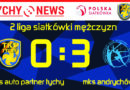 2 liga siatkarzy : TKS Auto Partner Tychy – MKS Andrychów 0:3