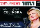 Stanisława Celińska z zespołem w Teatrze Małym.