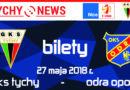 Sprzedaż biletów na mecz GKS Tychy – Odra Opole.