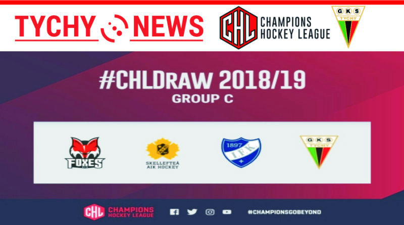 Terminy spotkań fazy grupowej Hokejowej Ligi Mistrzów.