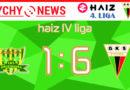 Haiz 4 liga : KS Drzewiarz Jasienica – GKS II Tychy 1:6