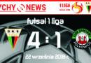 Futsal 1 liga : GKS Tychy – KS Polkowice 4:1