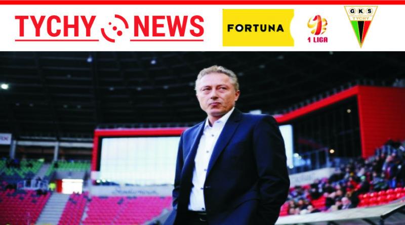 Tomasz Wolak zastąpi Ryszarda Tarasiewicza na ławce trenerskiej w meczu z Chrobrym Głogów.