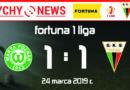 Fortuna 1 liga : Warta Poznań – GKS Tychy 1:1