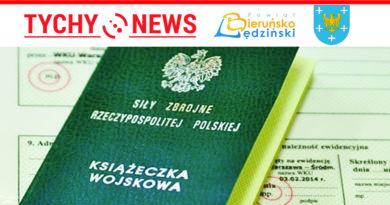 Kwalifikacja wojskowa dla gmin powiatu bieruńsko-lędzińskiego.