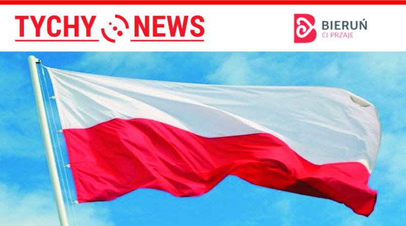 Odebierz darmową flagę w Bieruniu.