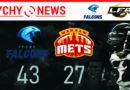 LFA 1 : Tychy Falcons – Warsaw Mets 34:27