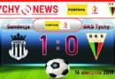 Fortuna 1 liga : Sandecja Nowy Sącz – GKS Tychy 1:0