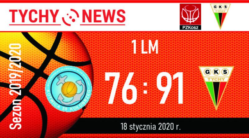 1 LM : Energa Kotwica Kołobrzeg – GKS Tychy 76:91