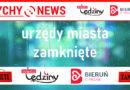 Urządy Miasta w Bieruniu i Lędzinach zamknięte dla interesantów.