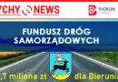Kolejne środki zewnętrzne na inwestycje drogowe w Bieruniu.