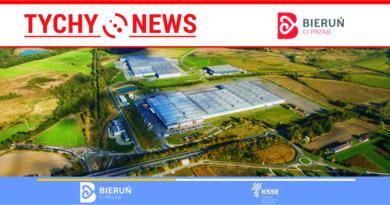 Budowa nowej infrastruktury na terenach inwestycyjnych w Bieruniu.