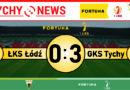 Fortuna 1 liga : ŁKS Łódź – GKS Tychy 0:3
