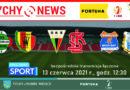 Transmisja łączona niedzielnych meczów ostatniej kolejki Fortuna 1 ligi w Polsacie Sport.