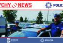 Policyjna eskorta do szpitala dziecięcego.