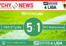Zina 4 liga : GKS II Tychy – GKS Radziechowy-Wieprz 5:1