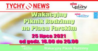 Wakacyjny Piknik Rodzinny na Placu Farskim.