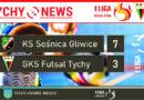 1 liga futsalu : KS Sośnica Gliwice – GKS Futsal Tychy 7:3