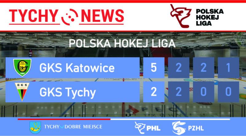 Kolejna porażka tyskich hokeistów. GKS Katowice – GKS Tychy 5:2