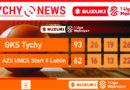 Kolejne zwycięstwo koszykarzy : GKS Tychy – AZS UMCS Start II Lublin 93:62