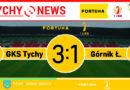 Fortuna 1 liga : GKS Tychy – Górnik Łęczna 3:1